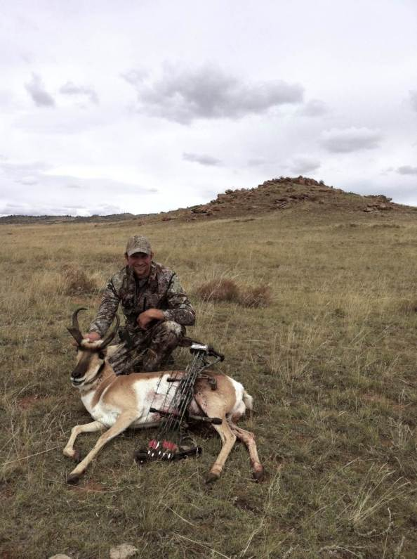 Gaspar Perricone and his prized 2011 Colorado Pronghorn