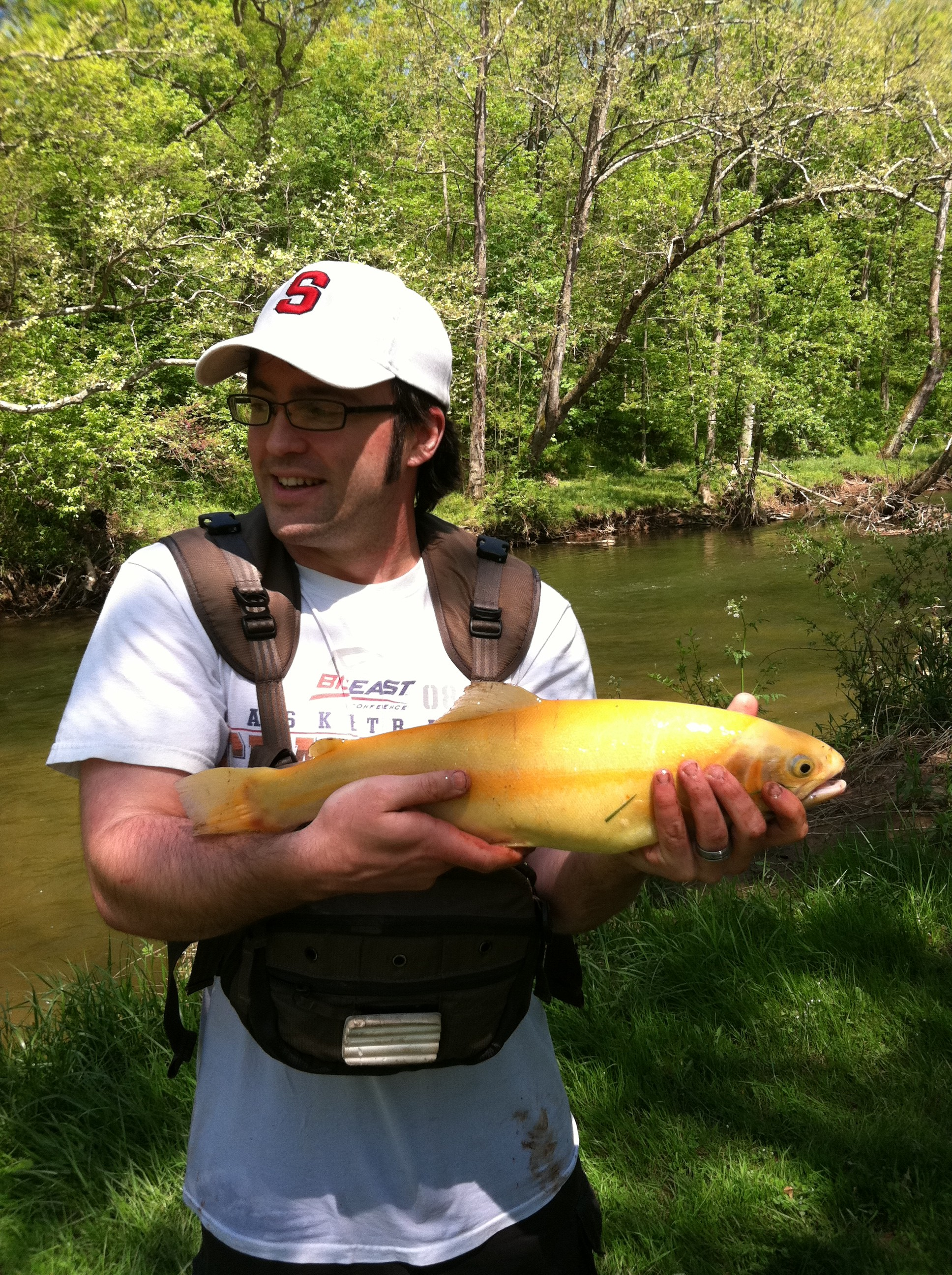 Getting started trout season 2012 team surra outdoors for Pa fishing season