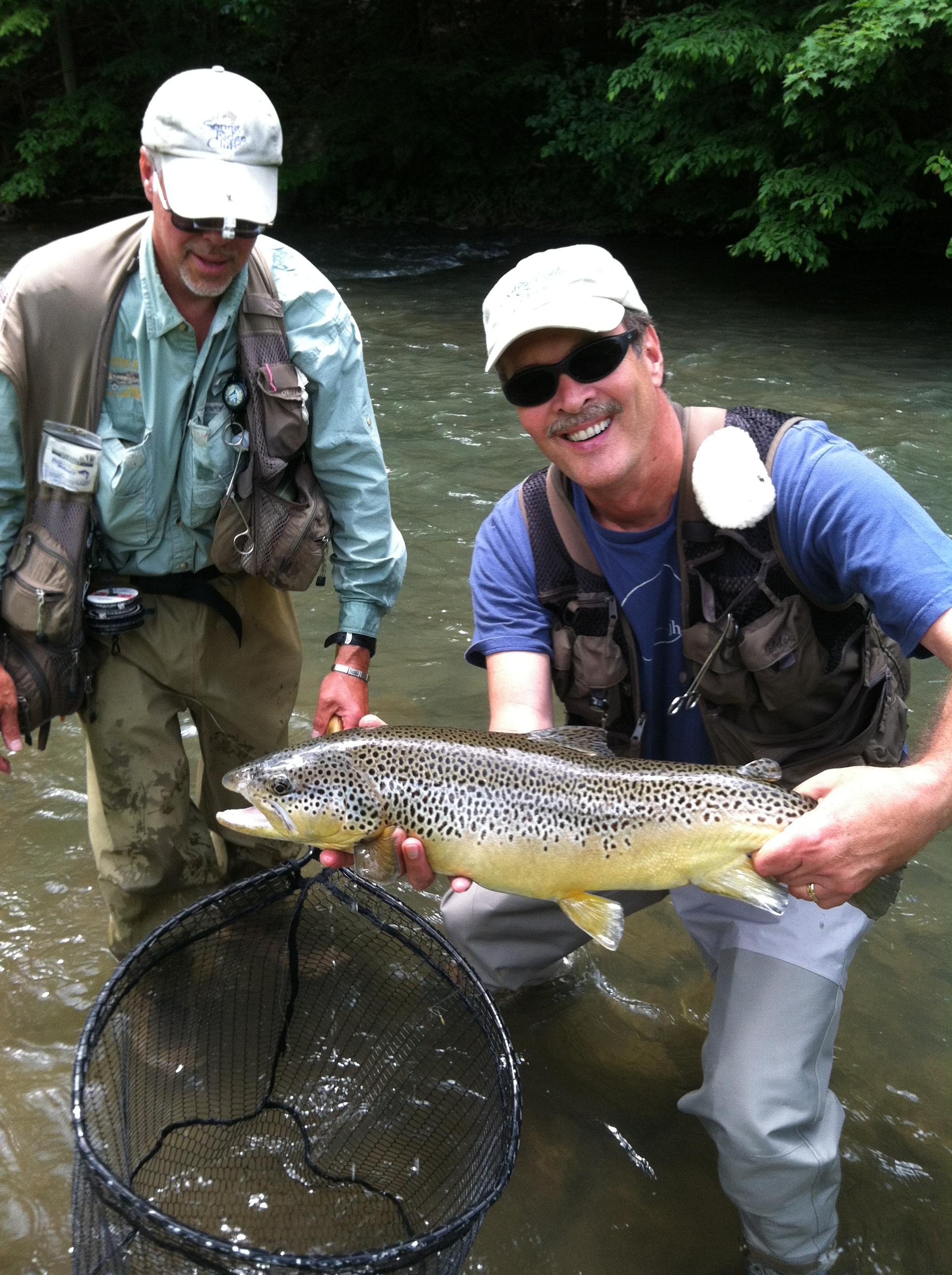 Spring ridge club s spruce creek slammin team surra for Spring creek pa fishing report
