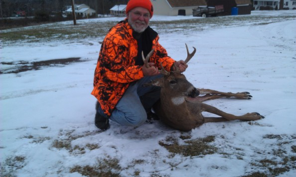 Dan Surra bagged this big woods 6 during the PA rifle season.